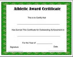 sports certificates templates free printable sports award certificate templates