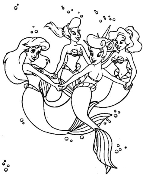 little mermaid and friends coloring pages ariel the little mermaid coloring pages gt gt disney coloring