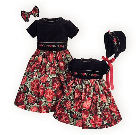 matching sister dresses for christmas roses matching dresses