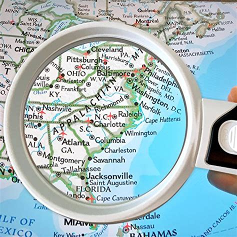magnifying glass with light for macular degeneration led magnifying glass 10x 5x illuminated 2 lens set best