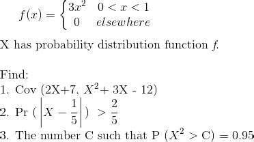 probability distribution function solved probability distribution function chegg com