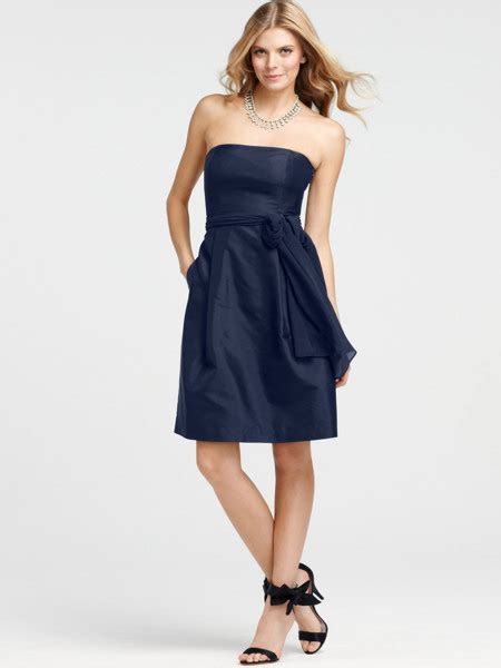 Navy Blue Bridesmaid Dress by Strapless Navy Blue Bridesmaid Dresses Cherry