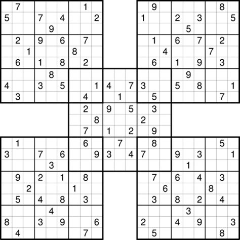 printable multi sudoku picture gallery