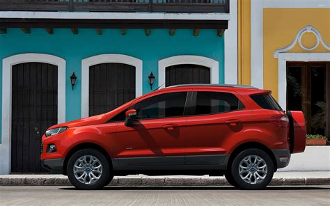 car side view wallpaper ford ecosport titanium side view wallpaper car