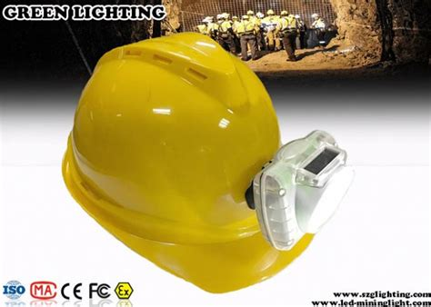 miners lights for hard hats cool white cordless led mining cap l 13000 lux
