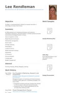 vice president of marketing resume samples visualcv