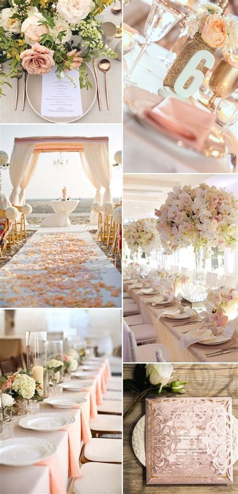 Best 25  Peach wedding decor ideas on Pinterest   Peach