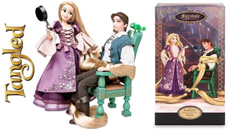 Rapunzel Hair Set Shoo Conditioner Limited rapunzel and flynn disney designer fairytale series limited edition doll set un boxing review