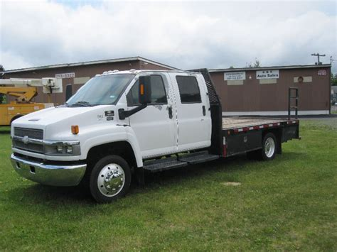 chevrolet kodiak  crew cab   foot flatbed