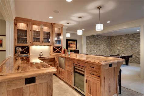 hickory kitchen cabinet pictures and ideas wonderful hickory cabinets decorating ideas