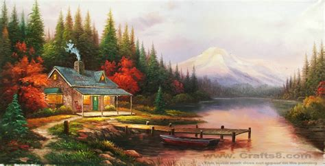 Landscape Pictures Canvas Amazing Paintings Paintings Of Lemons