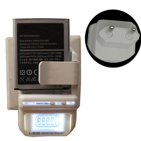 samsung cell phone battery charger eu universal battery charger lcd indicator screen for