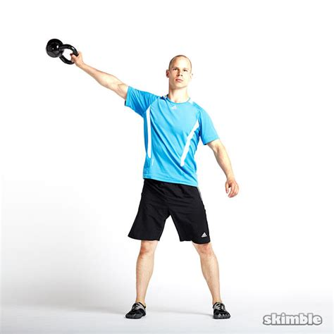 side to side swing kettlebell side swing images