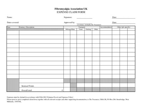 expense form templates free printable expense sheet best agenda templates