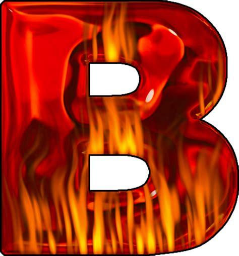 themed party letter b presentation alphabets hot letter b