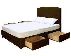 Platform With Drawers king platform bed with drawers decofurnish
