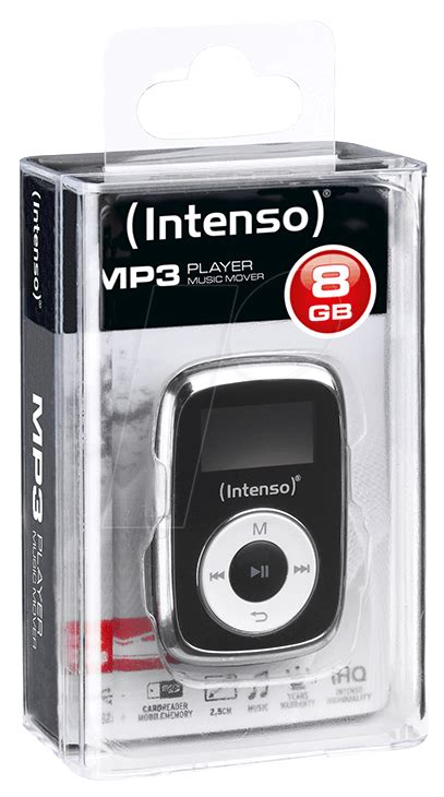 Intenso Mp3 Player 3540 by Intenso Mp3 Player Intenso 8 Gb Mp3 Player