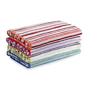 dkny symphony stripe bath towels 100 cotton bed bath