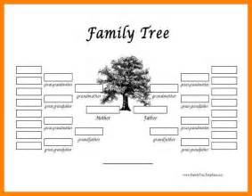 family tree templates for free family tree template word resumes