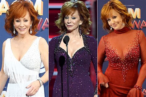 reba mcentire s costume changes at acm awards dresses reba mcentire brought 7 gowns and slippers to the acm awards