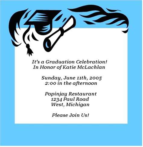 make free graduation invitations to print printable graduation invitations