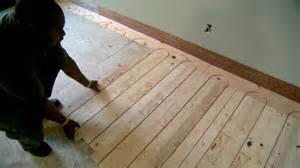 radiant floor heat retrofit hydronic floor matttroy