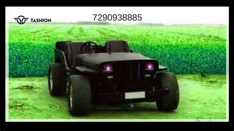 certified modified jeeps  india tashion jeep car