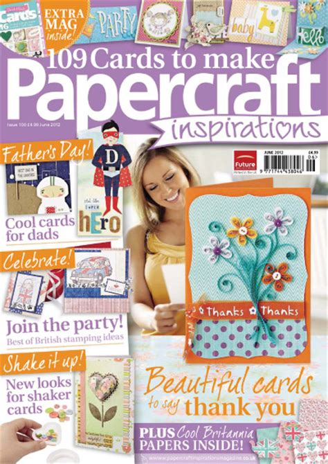 Papercraft Inspiration Magazine - papercraft inspirations june 2012 187 pdf magazines archive