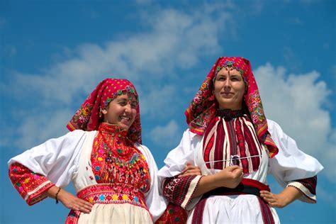 Mit Freundlichen Grüßen Kroatisch Urlaub Nach Kroatien Volkskultur