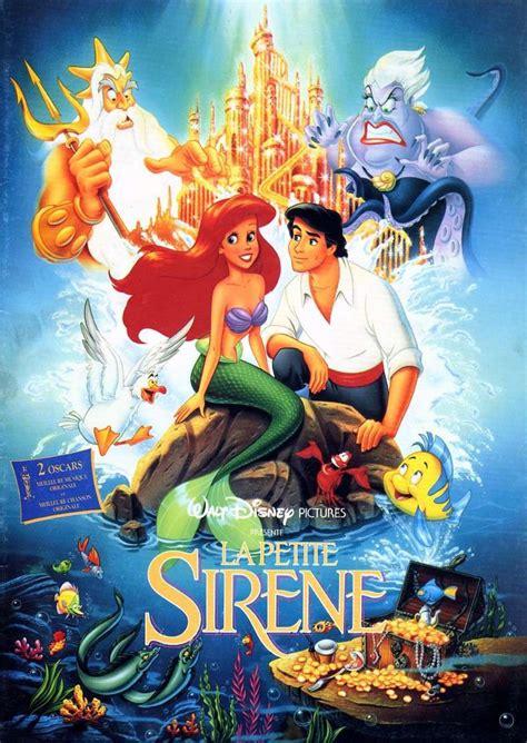 film disney la petite sirene walt disney la petite sir 232 ne 1989