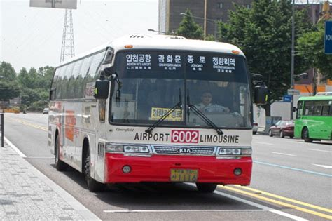 by bus from incheon airport south korea korea4expats image gallery korean airlines bus limousine