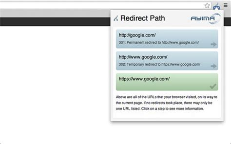 Noredirect Chrome 4 Tools To Trace And Control Redirect Paths While Browsing
