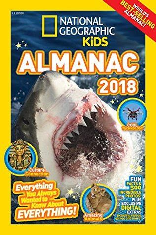 national geographic kids readers 1426318022 national geographic kids almanac 2018 by national geographic kids