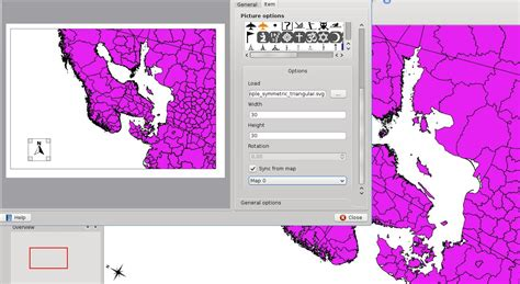 zip code map qgis 192 map composer needs a north arrow qgis