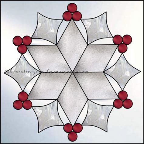 snowflake patterns for stained glass snowflake faux privacy stained glass clings and window films