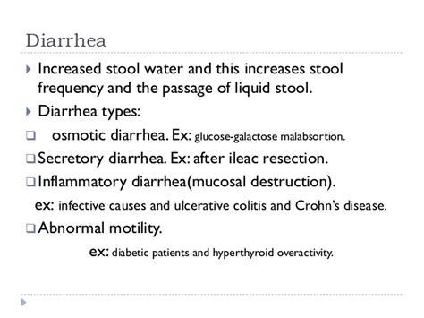 Regular Stool Followed By Diarrhea by Pediatrics Chronic Diarrhea
