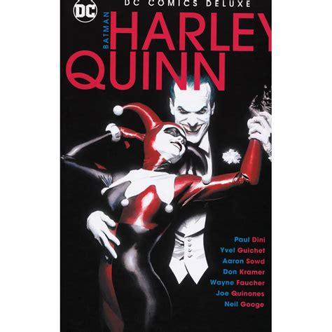 comics dc deluxe batman harley quinn