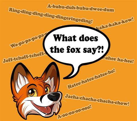 what does the say what does the fox say lyrics