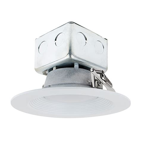led recessed lighting junction box 6 quot recessed led downlight w built in junction box and