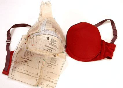 pattern drafting large bust idea for making pattern from an existing bra лифы