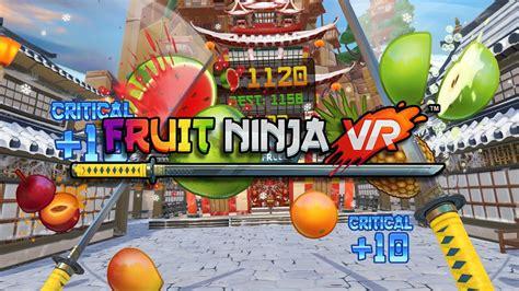fruit vr fruit vr vive vr gameplay