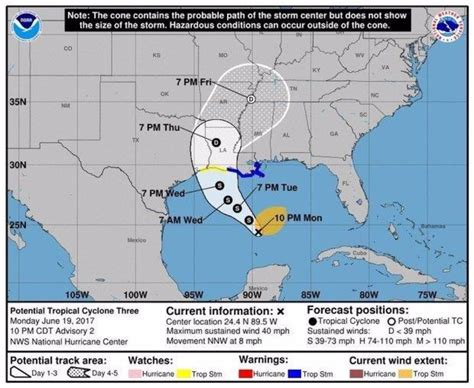 Louisiana Section 8 by Tropical Warning Issued For Louisiana S Gulf Coast