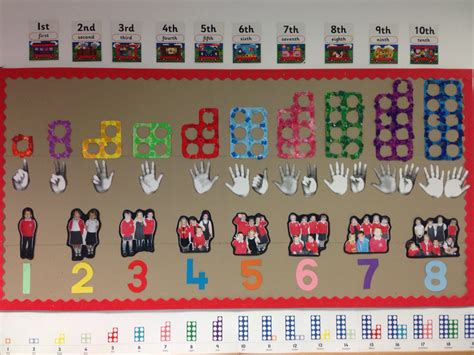 printable number line for display numicon number display numicon pinterest display