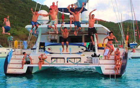 catamaran around bvi caribbean yacht charters options for tropical island