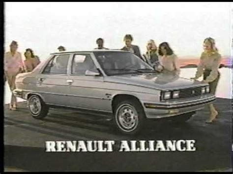 renault alliance 1984 renault alliance youtube