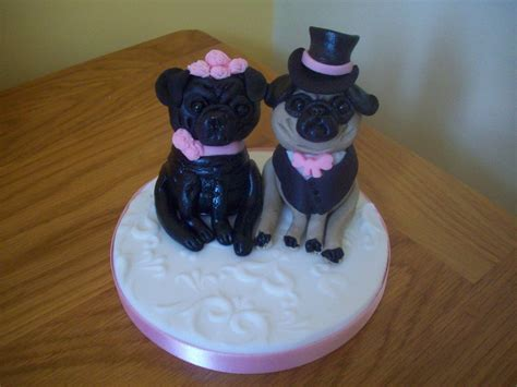 pug and groom cake toppers in blackpool edible cake toppers sandies cakes and toppers of blackpool