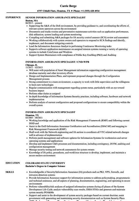 industrial security specialist sle resume procurement