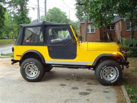 1976 Jeep Cj7 For Sale 1976 Jeep Cj7 For Sale Newberry South Carolina