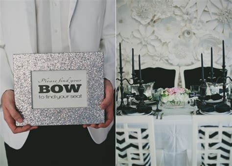 Black And White Wedding Decorations by Black And White Wedding Decoration Ideas