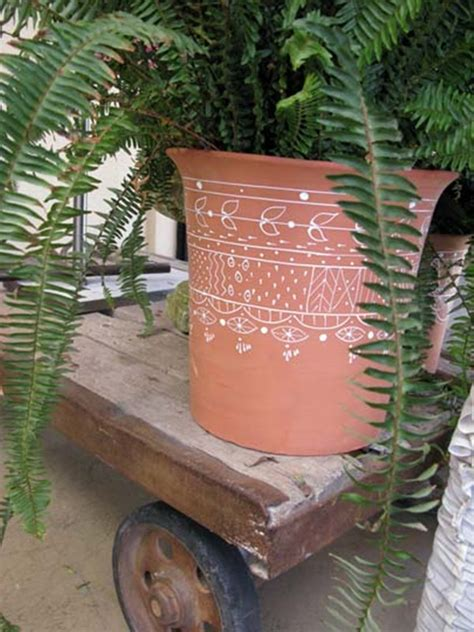 Decorating Ideas Your Clay Pots Interesting Hobby Flower Pot Painting Ideas 40 Exles